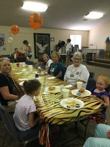 Dinner in Fellowship Hall 6